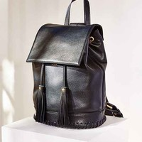 Silence + Noise Whipstitch Bucket Backpack