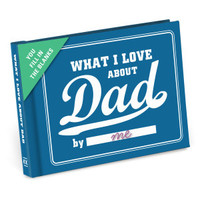 Knock Knock What I Love about Dad Journal - Official Shop