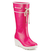 Sperry Top-Sider - Women's Pelican Wedge Sadie Tall Rubber Boot