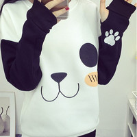 Hot Deal On Sale Hoodies Print Patchwork Embroidery Vibrator [6446620164]