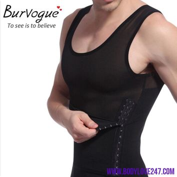 Men Body Shaper Vest Waist Cincher and Tummy Control Girdles