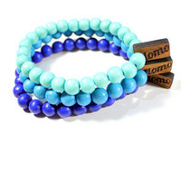 Domo Beads Aqua Bracelet Pack : Karmaloop.com - Global Concrete Culture