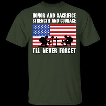 Veteran Never Forget T-Shirt