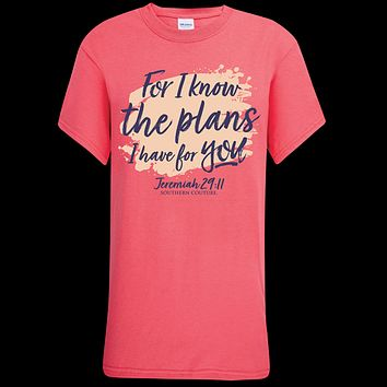 Southern Couture Soft Collection Know The Plans Faith T-Shirt