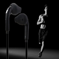 Noise Isolating Earphone Earbuds Portable Sport Running Headset with Mic Volume Control Headphones fone de ouvido for iPhone 7