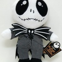 "10"" Disney Nightmare Before Christmas JACK Plush Toy Doll"