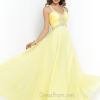 Blush Pretty Back Prom Dress 9989