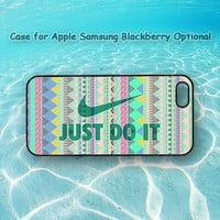 Aztec and Just do it for iphone 5 case, iphone 4 case, ipod case, Samsung note 2, Samsung galaxy S3, Samsung galaxy S4, blackberry z10, q10