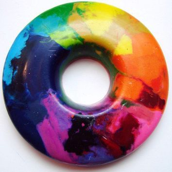 Rainbow Ring - A Rainbow of a Crayon - A Montessori and Waldorf Inspired Color Learning Toy