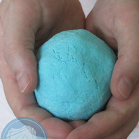 Bath Bomb ( Seaside Mist)  ( 100% Homemade & Handmade) hand sculpted