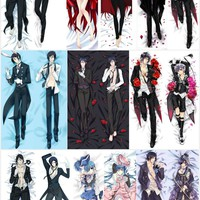Black Butler  Body Pillow Cover Case