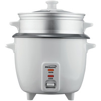 Brentwood 8-cup Rice Cooker With Steamer