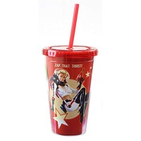 Fallout Carnival Nuka Cola Red Carnival Acrylic Travel Cup