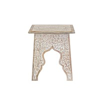 Apsara Hand Carved End Table