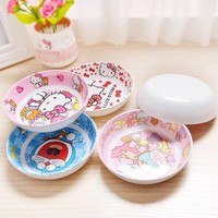 Hello Kitty My Melody Doraemon Gemini Child Bowl Fruit Plate Vegetable Platter/ Dish/Children's Tableware G37