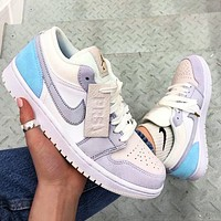 NIKE AJ AIR Jordan1 Low tops sneakers Basketball shoes