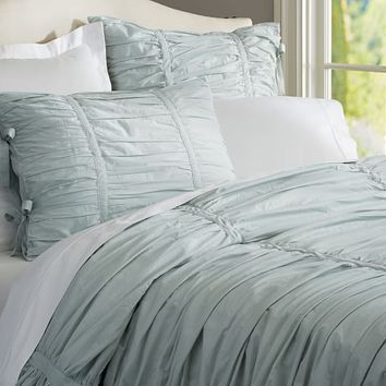 Shop Ruched Duvet Covers On Wanelo