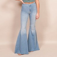 Free People - Just Float on Flare Jeans