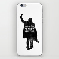 John Bender Doesn't Want You To Forget iPhone & iPod Skin by LookHUMAN | Society6