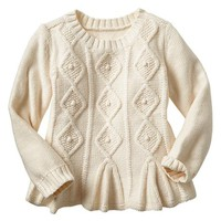 Gap Baby Factory Cable Knit Swing Sweater