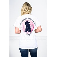 Love Is a 4-Legged Word | White | Simply Southern | Best Seller