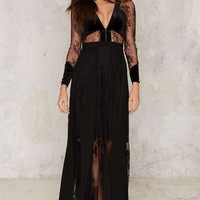 Meshed Up Maxi Skirt