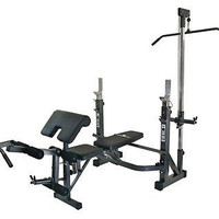 Home Gym Equipment Weight Squat Lifting Workout Olympic Bench Muscle Leg