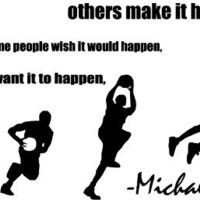 1 X Some People Want It All Basketball Vinyl Wall Art Decal