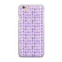 "Marianna Tankelevich ""Cute Birds Purple"" Pink Lavender iPhone Case"