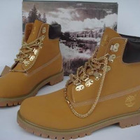 Chained Timberlands