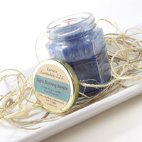 Scented Candle - Night Blooming Jasmine scented Palm Wax Candle -- 6.5 ounce Jar