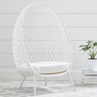 Open Weave Cave Chair