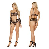 Bats Eyes Lingerie Set