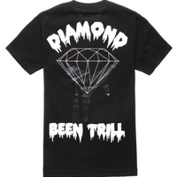 Been Trill - Diamond Supply Co. Backhit 2 T-Shirt - Mens Tee - Black - Large