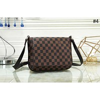 LV 2018 new trend men's business style casual shoulder bag Messenger bag #4