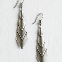 Boho On Point! Earrings in Silver by ModCloth