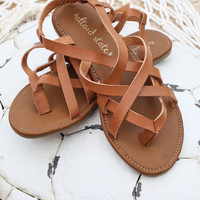 Altar'd State Strappy Toe Sandals