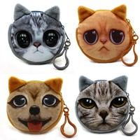 Funny Kitty Coin Purse -11 Kitty Options-