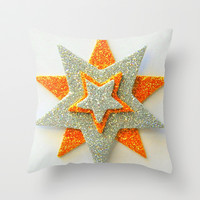 The Star of the Show Throw Pillow by Jensen Merrell Designs