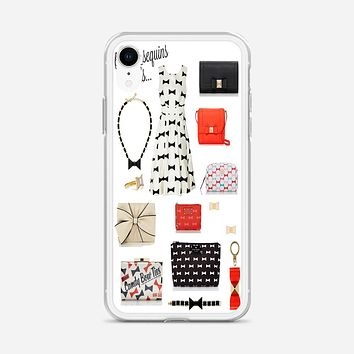 Bows And Sequins_Kate Spade New York iPhone XR Case