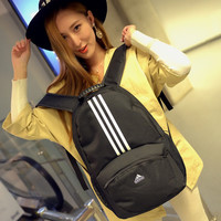 """Adidas"" School Bag Hiking Daypack Laptop Backpack Travel Daypack Handbag"
