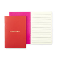"""kate spade new york """"all fine on paper"""" notebook set"""