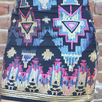 I Wanna Be Yours Skirt: Multi