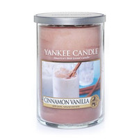Cinnamon Vanilla large 2-wick tumbler by Yankee Candle