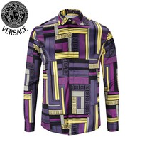Versace 2019 new men's lapel POLO shirt