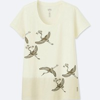 WOMEN KARAKAMI KARACHO SHORT-SLEEVE GRAPHIC T-SHIRT