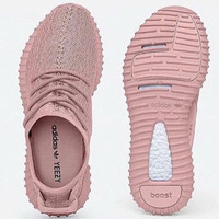 """Adidas"" Women Yeezy Boost Sneakers Running Sports Shoes Pink"