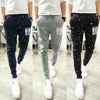 Autumn Korean Pants Casual Print Sportswear [6544580035]
