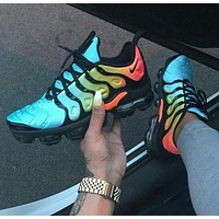 Nike Air Vapormax Plus Triple White Running Sneakers Sport Shoes-12