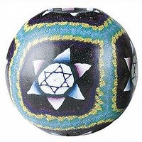 """Star Of David 4"""" Candle"""